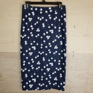 Boden Floral Maxi Skirt